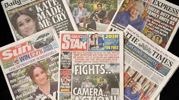 Pangeran Harry dan Meghan MarkleAncam Gugat BBC Terkait Pemberitaan Nama Anak Kedua