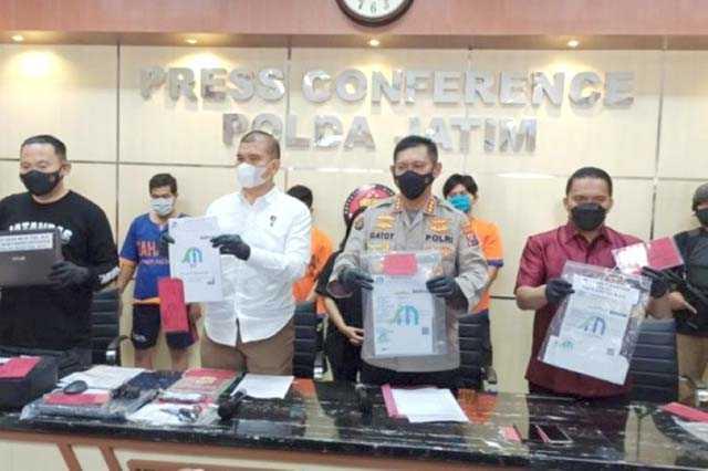 Pembuat Surat Tes PCR Palsu Ditangkap