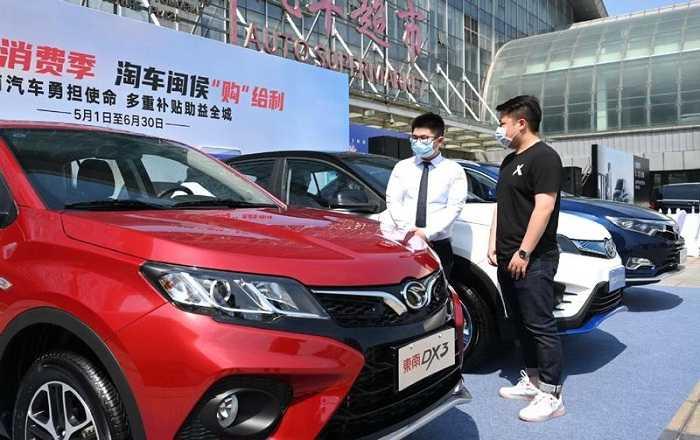 Penjualan Mobil di Tiongkok Terpukul Akibat Kekurangan Chip Global