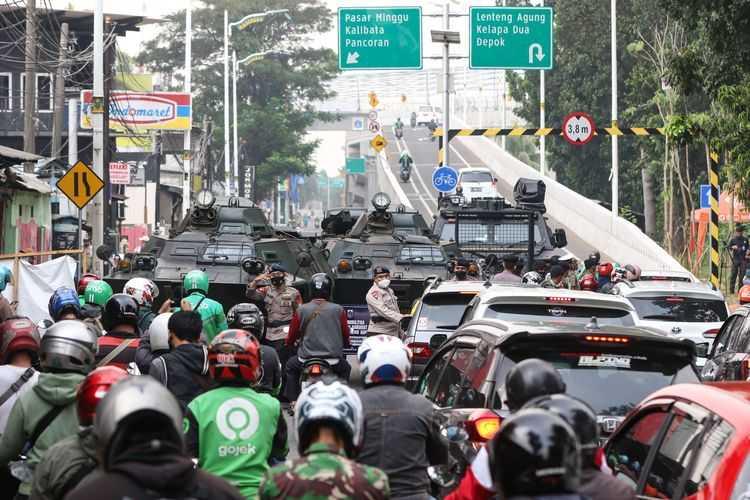 Penyekatan Jalan PPKM Darurat di Jakarta Bertambah Menjadi 75 Jalan, Salah Satunya Jalan Antasari