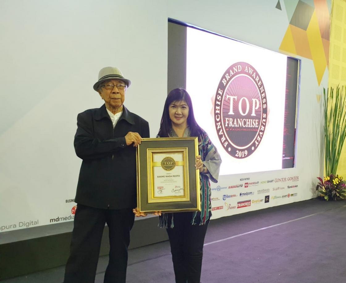 Susanty Widjaya, Penginspirasi Usaha Waralaba