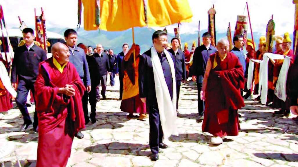 Presiden Xi Melawat ke Tibet