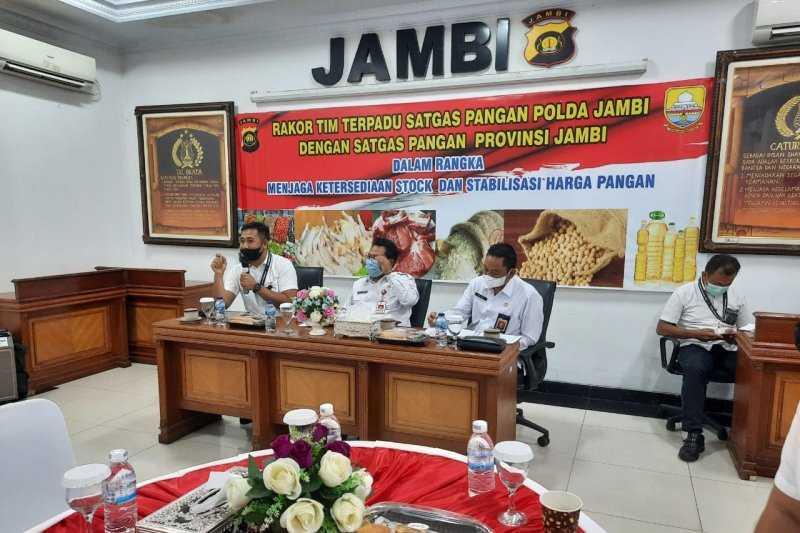 Satgas Pangan Jambi Jamin Ketersediaan Sembako Jelang Ramadhan