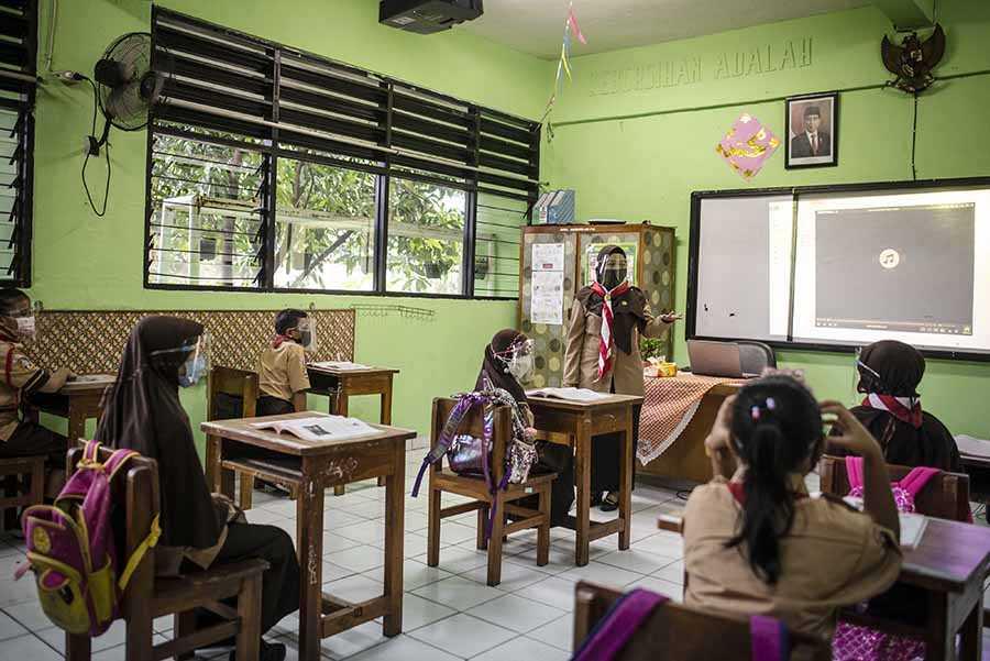 Sekolah Tatap Muka  Diikuti 30 Persen Siswa