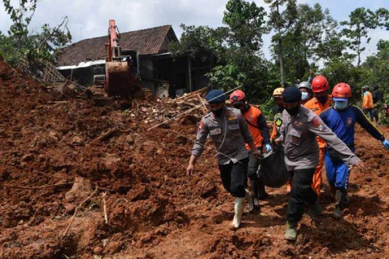 Seluruh Korban Tanah Longsor di Nganjuk Berhasil Ditemukan