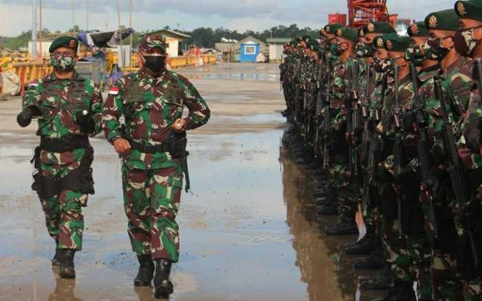 Sembilan Bulan Jaga Papua, Pasukan Raider Kostrad Ini Akhirnya Kembali ke Homebasenya, Tanpa Kehilangan Satu Pun Prajuritnya