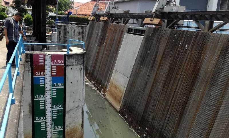 Sembilan Wilayah  di Jakarta  Utara Terancam Banjir