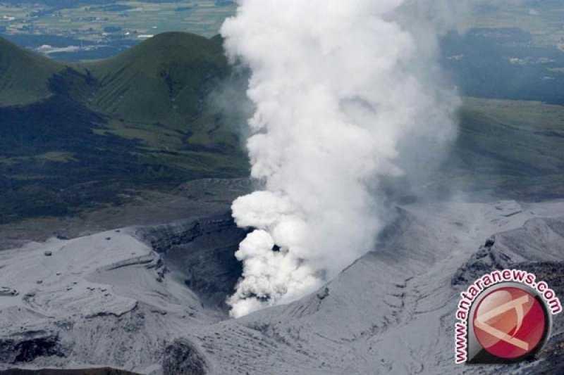Semoga Tidak Banyak Korban, Gunung Aso Jepang Meletus dan Tingkat Siaga Dinaikkan