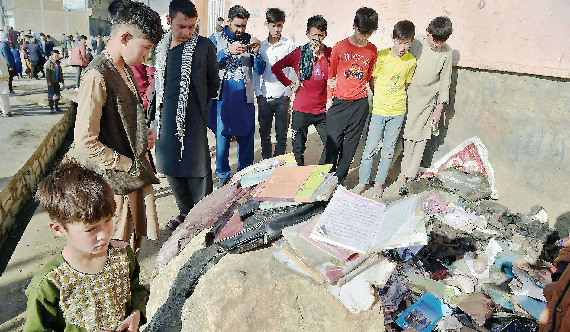 Setelah Serangan Bom di Sekolah, Taliban Umumkan Genjatan Senjata