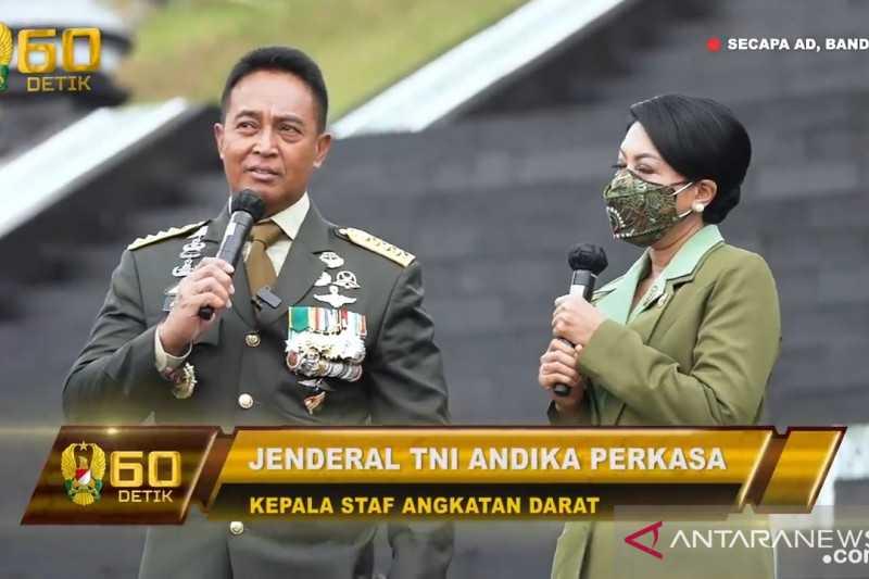 Simak Pesan Khusus dari Jenderal Bintang Empat Ini kepada Lulusan Pendidikan Pembentukan Perwira