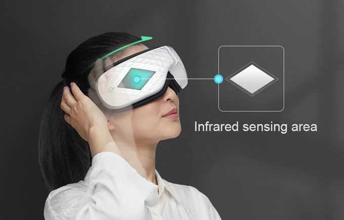 Smart Eye Massager Meredakan Ketegangan Mata