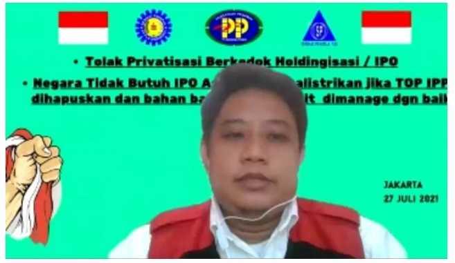 SP PLN Tolak Holdingisasi yang Dipimpin PGE