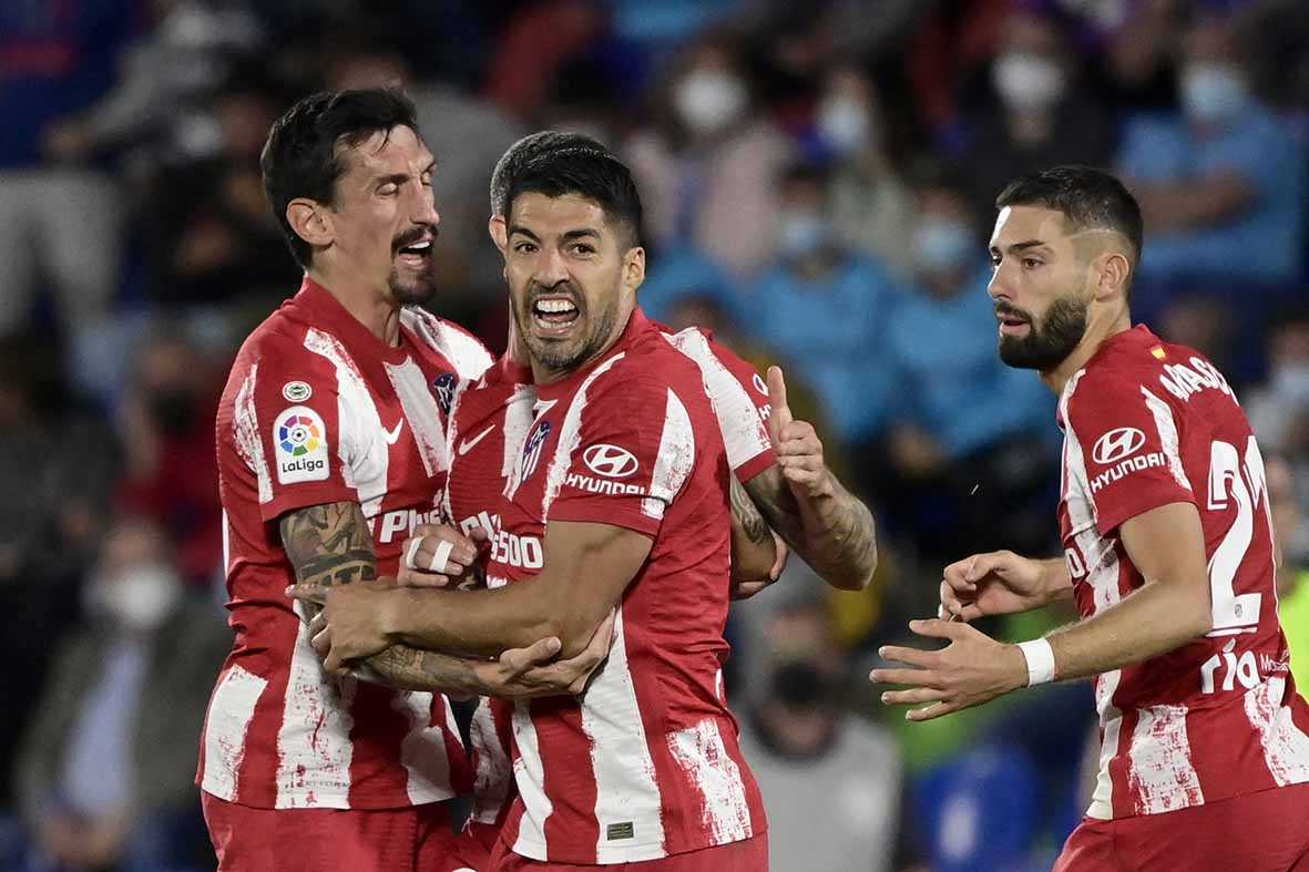 Suarez Bawa Atletico ke Puncak La Liga
