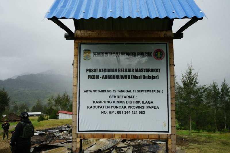 Sungguh Keterlaluan, Satgas Sebut Rumah yang Dibakar Teroris KKB di Papua Adalah Pusat Belajar Masyarakat