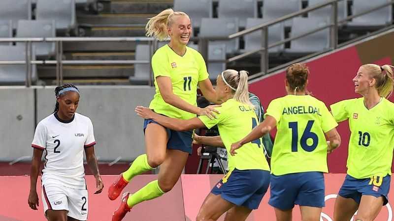 Swedia Taklukkan AS 3-0, Brasil Hancurkan China 5-0