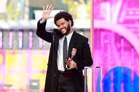 The Weeknd Sabet Top Artist Billboard Awards