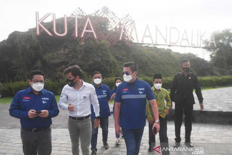 Tinjau Sirkuit Mandalika, Dorna Ingin MotoGP Segera di Indonesia