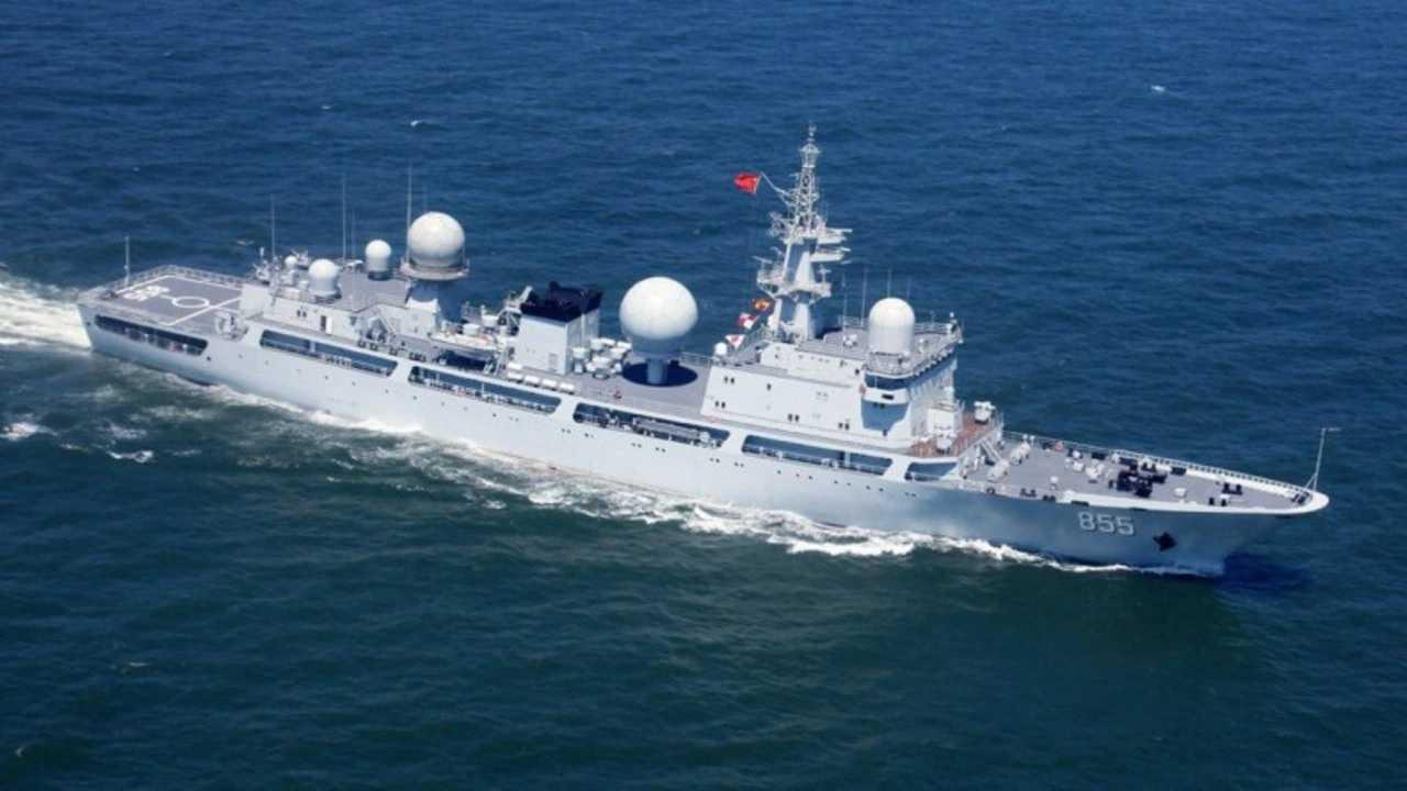 Tiongkok Kirimkan Kapal Pengintai Kedua