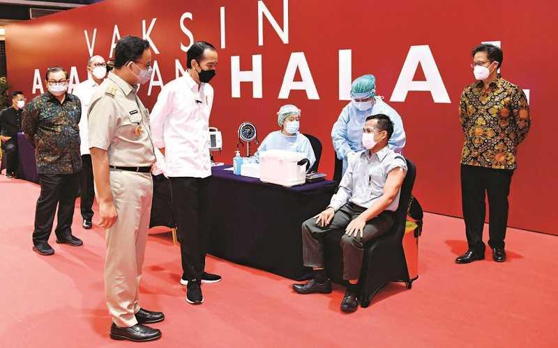 VAKSINASI DI MAL GRAND INDONESIA