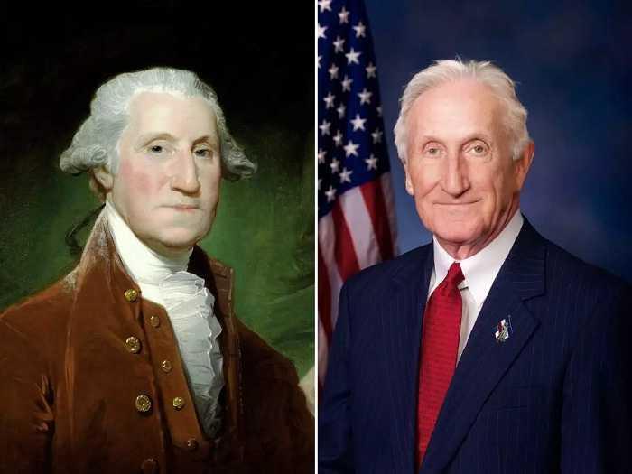 Viral, Perkiraan Foto George Washington Masa Kini
