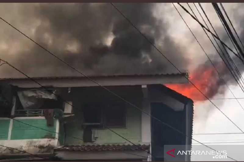 Waduh Kasihan Sekali di Tengah Wabah Terjadi Kebakaran di Rusun Tanah Tinggi Jakarta Pusat