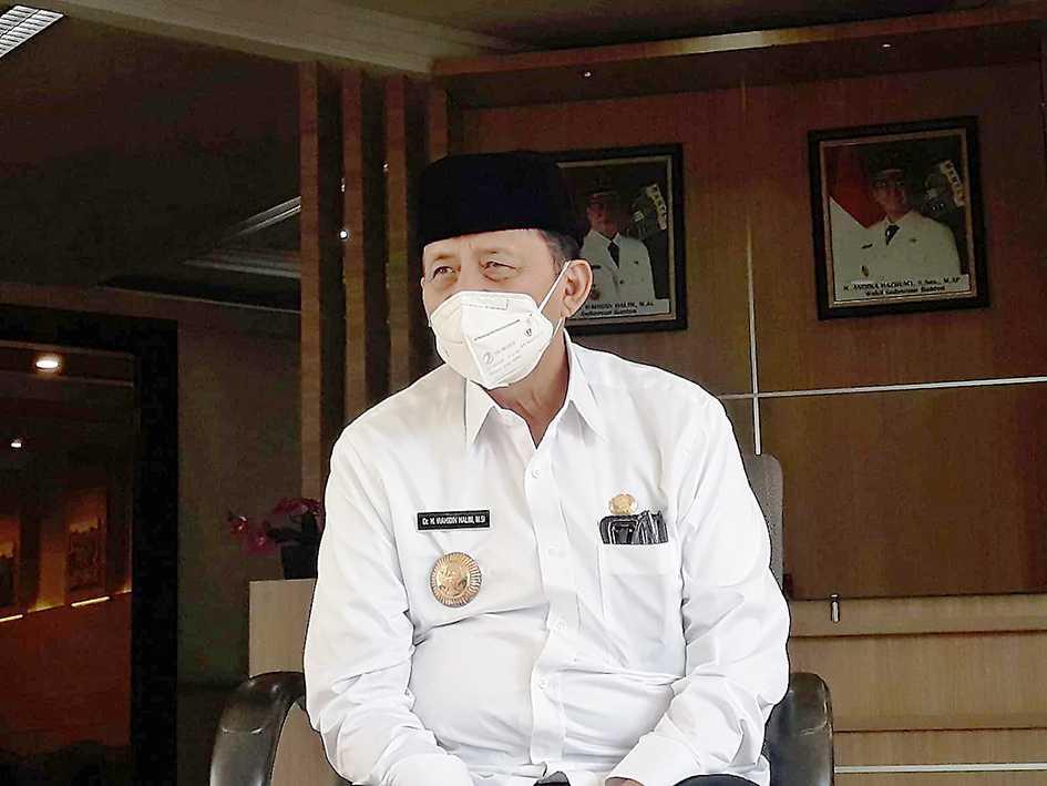 Wahidin Halim Bantah Potong  Dana Hibah Pondok Pesantren