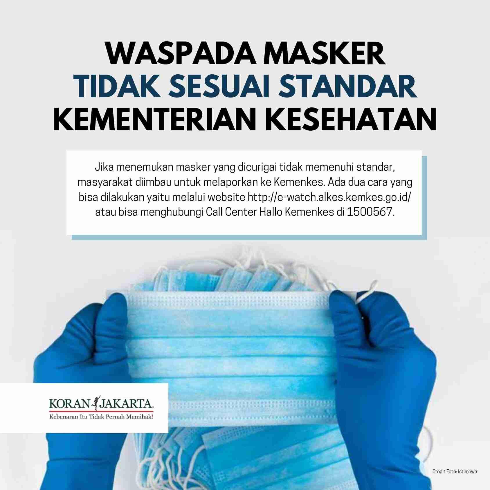 Cara Memilih Masker Sesuai Anjuran Kementerian Kesehatan 5