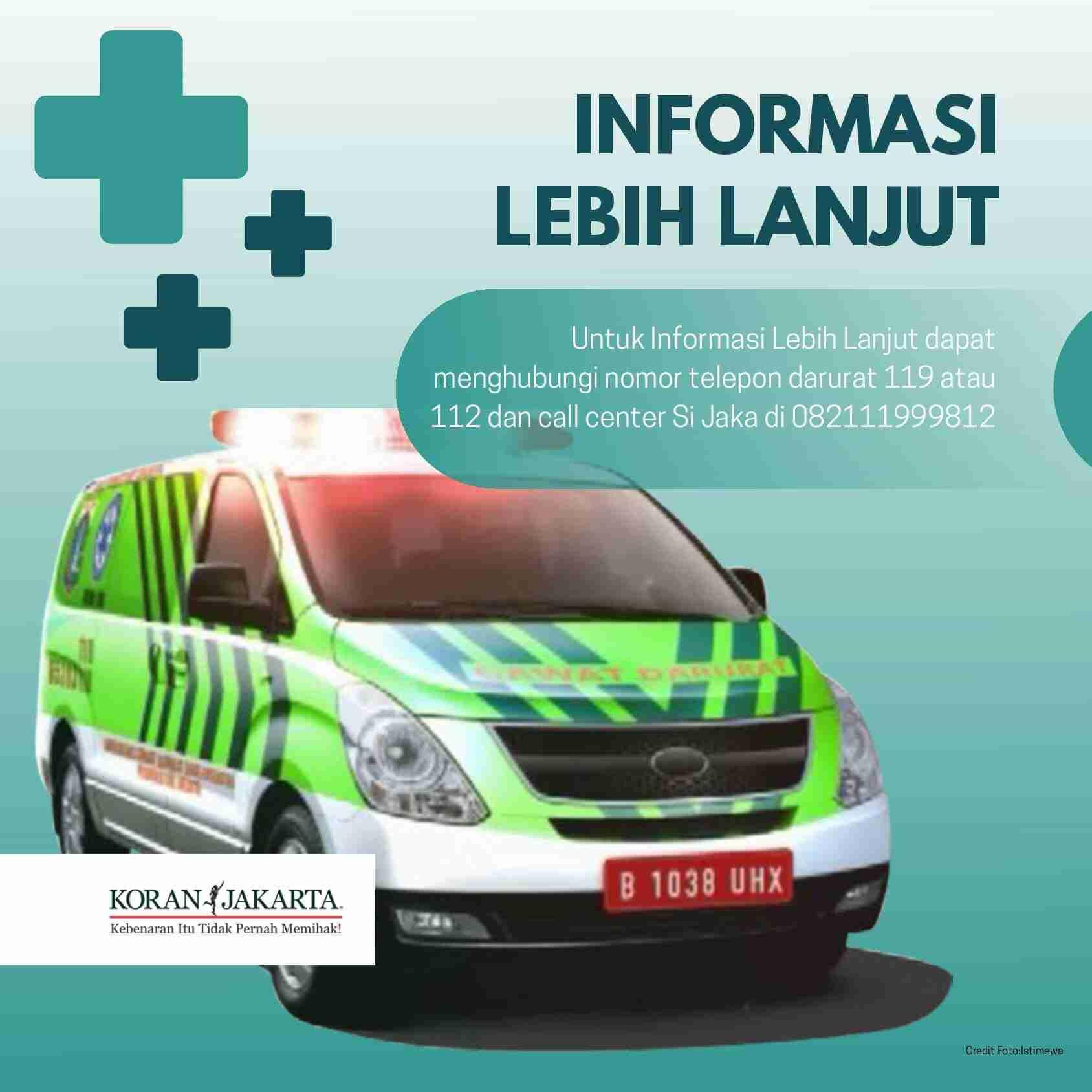 Jak Ambulans : Layanan Pemanggilan Ambulans Gawat Darurat 5