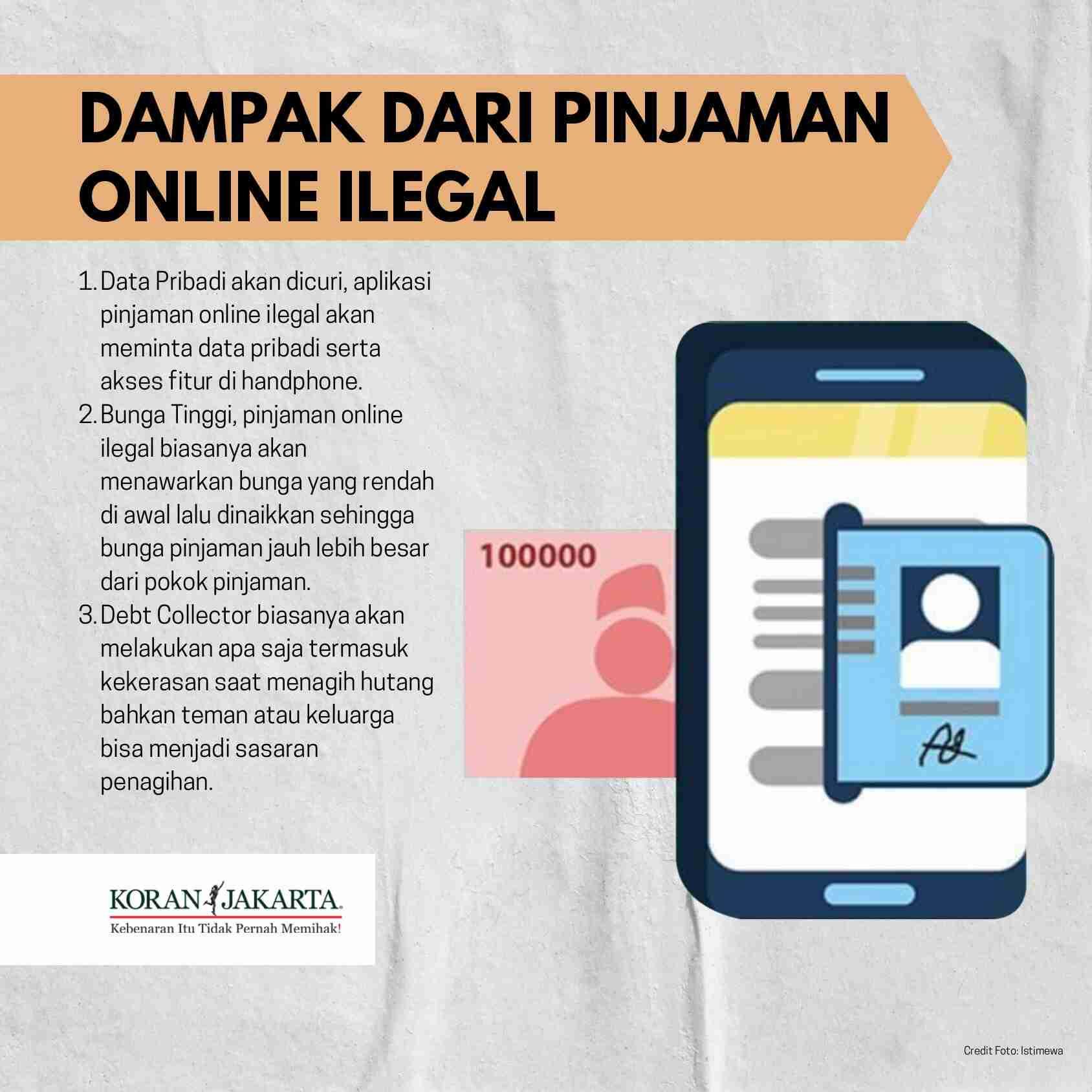 Pinjaman Online Ilegal 4